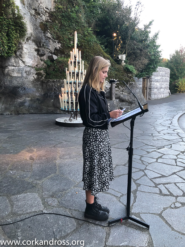 Mass at Lourdes Grotto is pilgrimage highlight