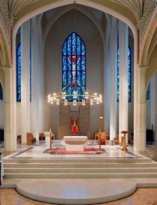 List of local churches with webcams that broadcast Mass online