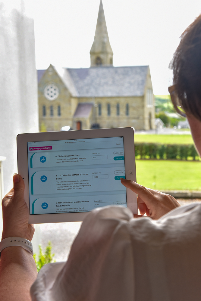 Parishes go online to meet and plan funding