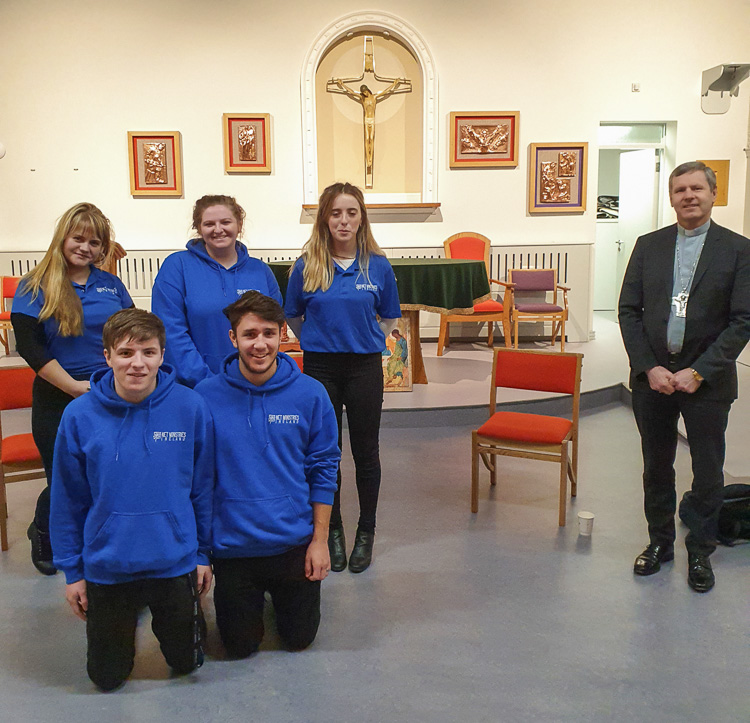Diocese hosts two NET groups in outreach to young people