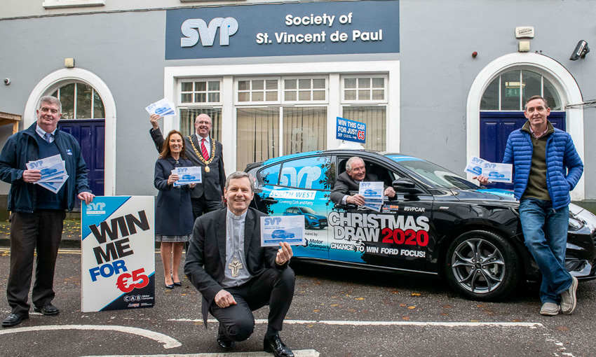 SVP Cork's draw for car goes online this Christmas