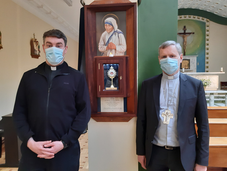 St. Mother Teresa relic unveiled at Mercy